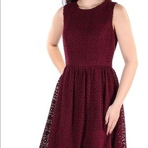 NEW!!!  Tommy Hilfiger merlot dress size 16